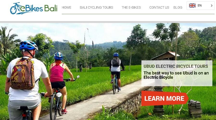 Bali eBike tours