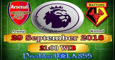 Prediksi Bola855 Arsenal vs Watford 29 September 2018