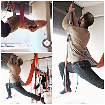 yoga, columpio, swing, trapeze, acro, hamaca, hamac