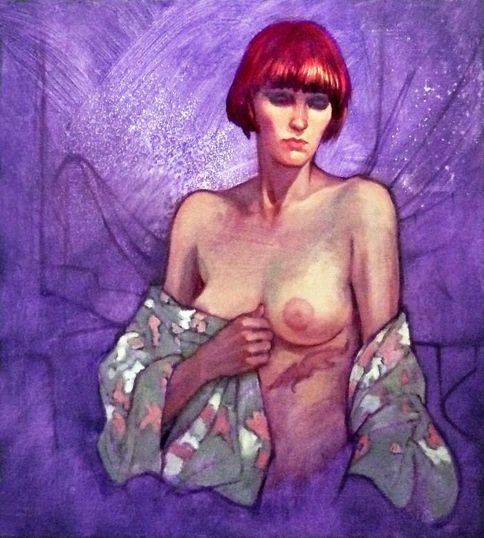 Ню и портреты. Roz McQuillan 19