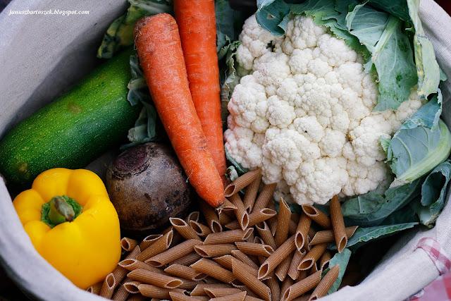 jak zrobić makaron z warzywami