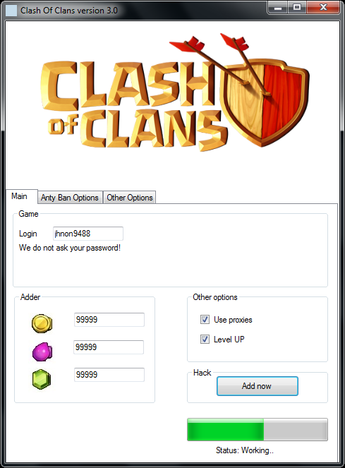 download clash of clans cheat tool v4 0 free