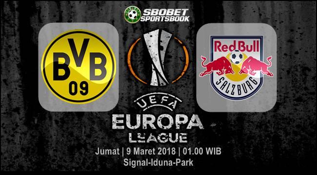Prediksi Borussia Dortmund vs Salzburg Liga Eropa Jumat, 9 Maret 2018   01.00 WIB
