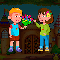 AvmGames Valentine Little Girl Escape