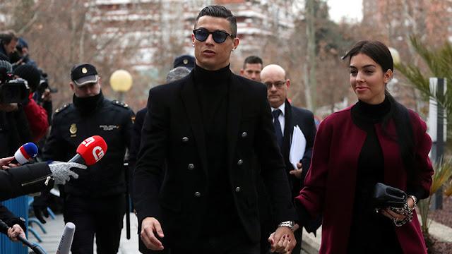 Ronaldo, condenado a 23 meses de cárcel en suspenso y 19 millones de euros de multa por fraude