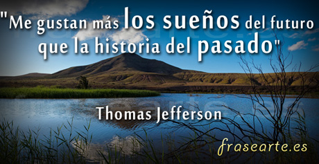Frases célebres de Thomas Jefferson