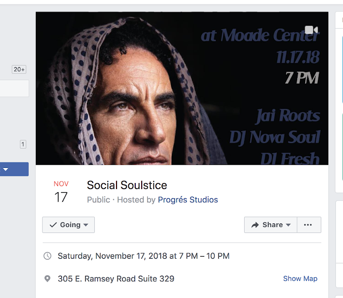 Aminah Dece continues to Build Progres Studios with annual Social Soulstice at the Moade Center