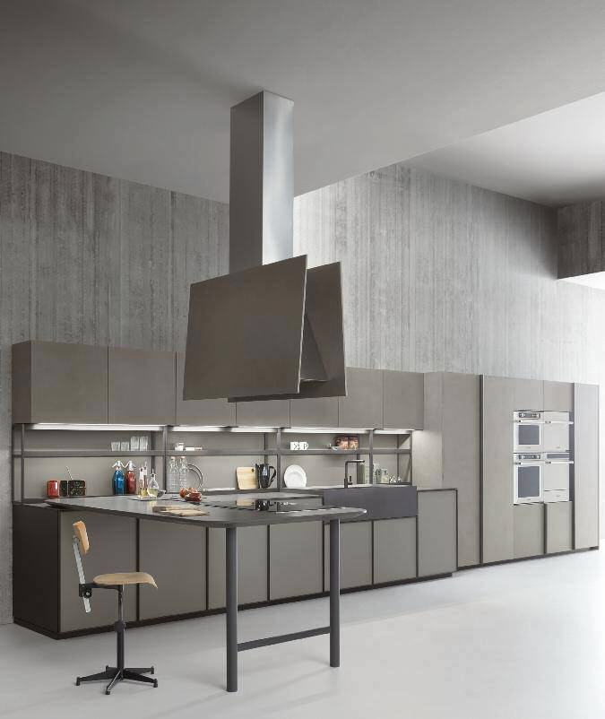 Tendenze: XP di Zampieri Cucine design contemporaneo