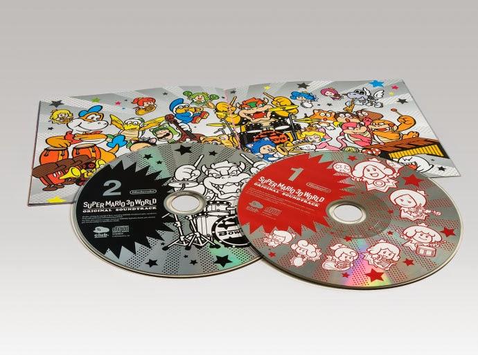 My Super Mario Boy: Super Mario 3D World Soundtrack - Stars Catalogue