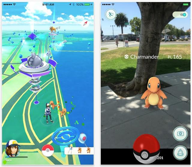 Pokemon Go(精靈寶可夢Go)玩家操作教學
