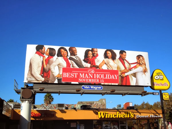 The Best Man Holiday movie billboard