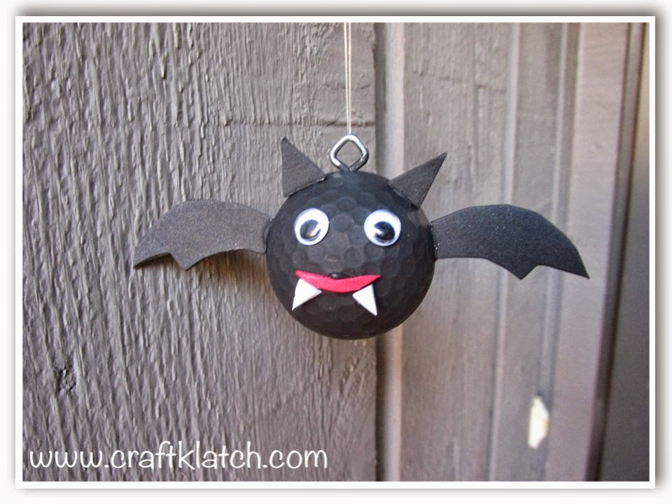 Craft Klatch Golf Ball Bat Diy Recycling Craft