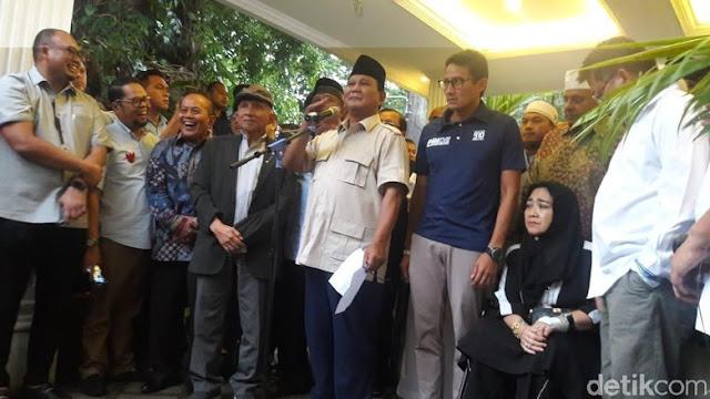 Geger dan Mbulet Asal-usul 62 Persen Prabowo Menang