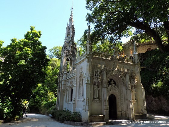 Capilla de la Santísima Trinidad, Quinta da Regaleira, Sintra