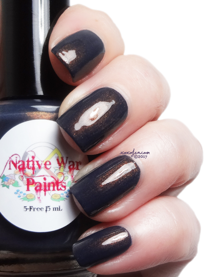 xoxoJen's swatch of Native War Paints Copperpot