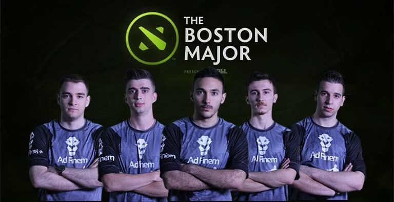 team adfinem hari kedua main event boston major 2016