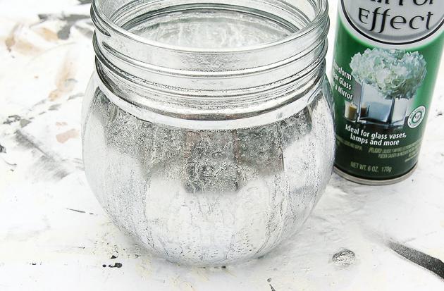 DIY Mercury glass, vintage ornaments, dollar tree DIY, Dollar Tree
