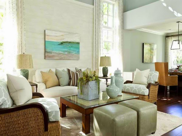 beach style living room decor tuscan rooms décorations traditionnelles de salon tropical ~ décoration ...