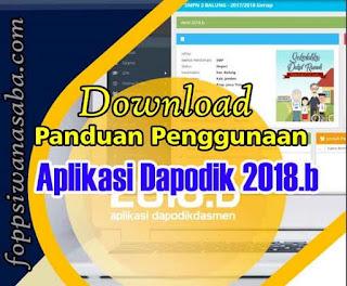 Panduan Penggunaan Aplikasi Dapodik Versi 2018.b