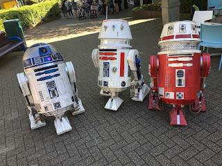 r2d2, r5d4, r5x2 droids