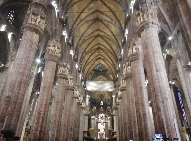 katedra duomo w środku wnętrze