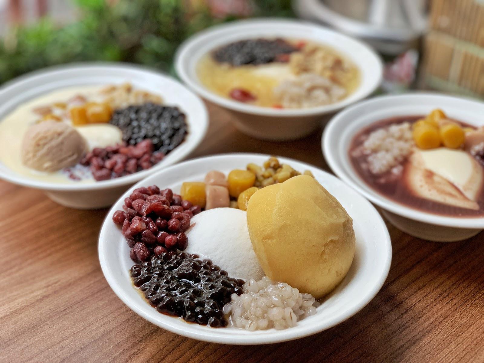 嘉義美食【嘉義品安豆漿豆花】綜合雪綿冰