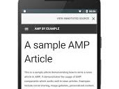 Responsive AMP Social Sharing Button