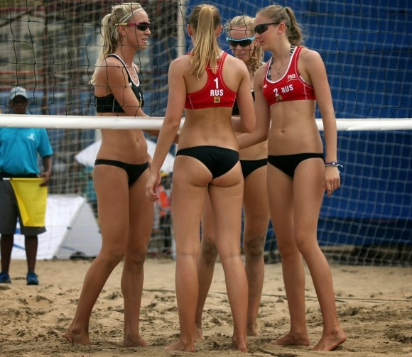 nude erotic volleyball players