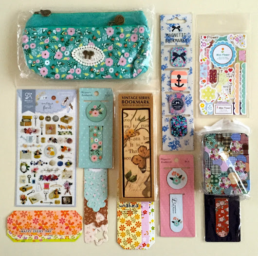 Floral Bookmarks + Extras Giveaway