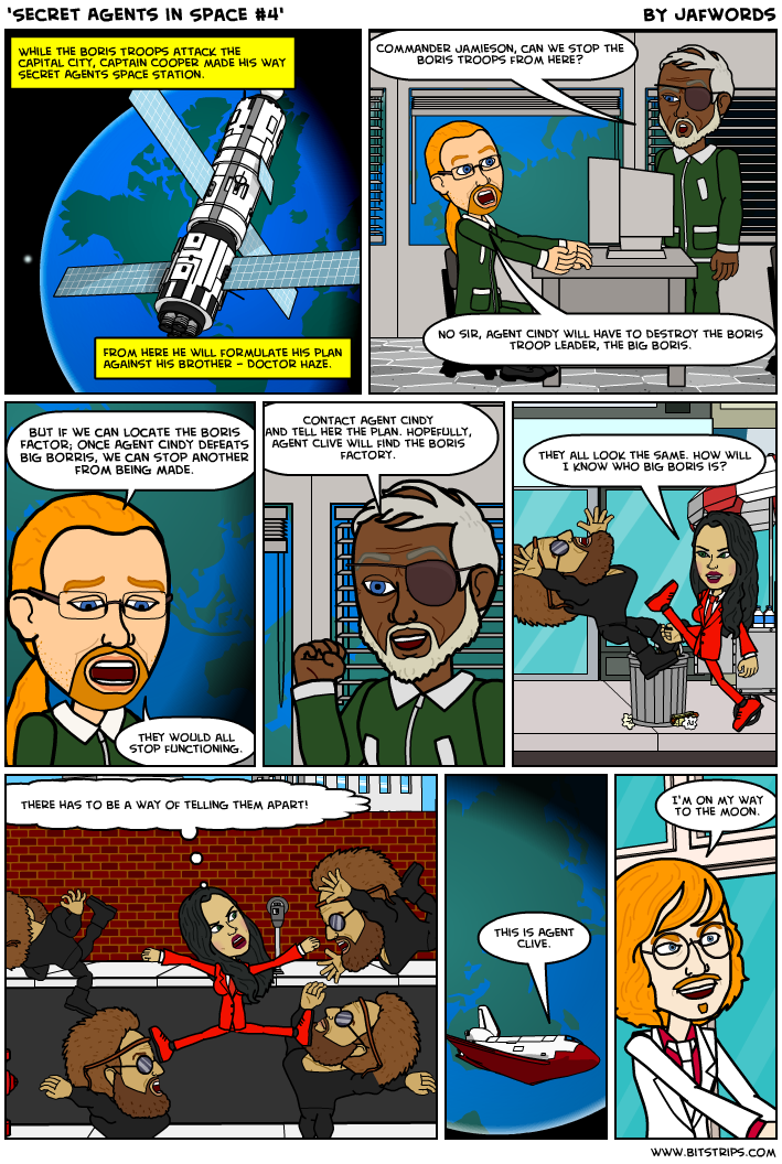 Secret Agents in Space #4