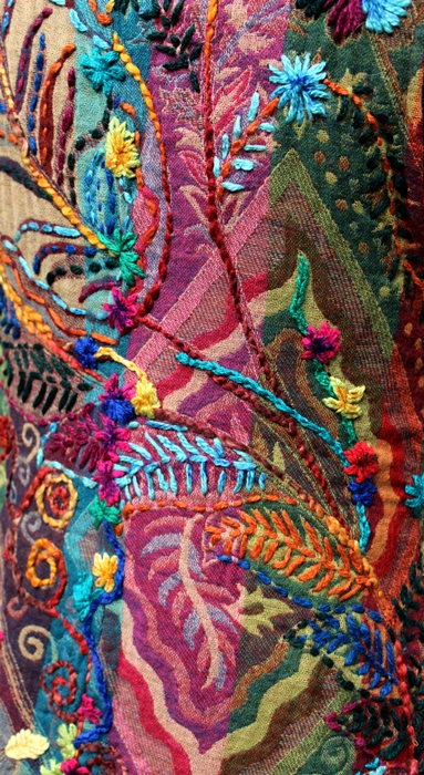 kamizelka haftowana