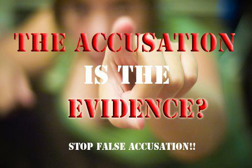 False accusations : Domestic abuse