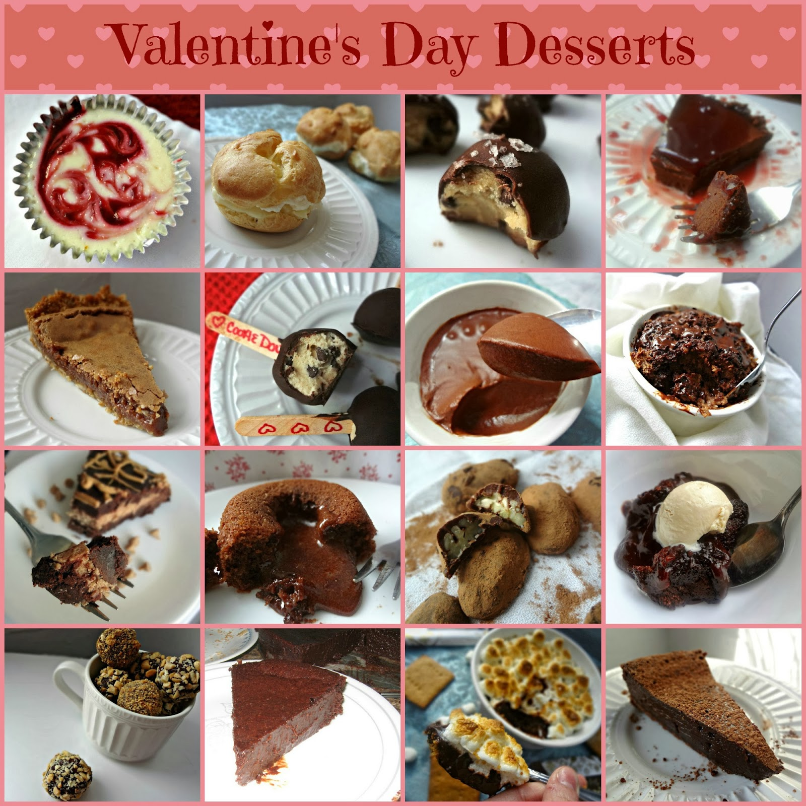Valentine's Day Desserts Round Up