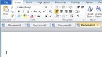 Aprire file Word e Excel in schede nella stessa finestra con Office Tabs