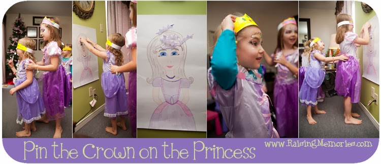Princess Party Game at www.RaisingMemories.com