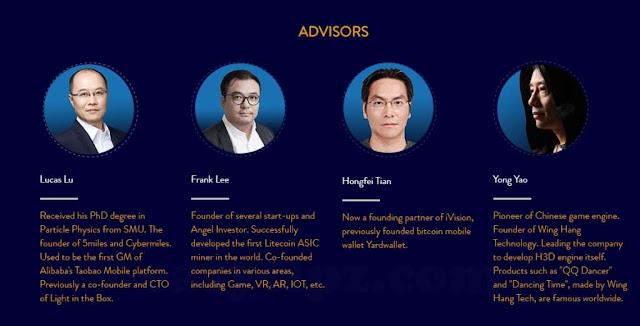 Egretia Team and Advisors