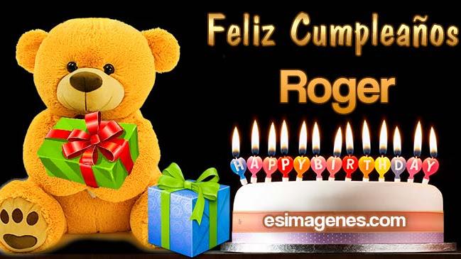 Feliz Cumpleaños Roger