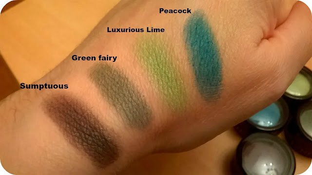 Lord and Berry colour swatches