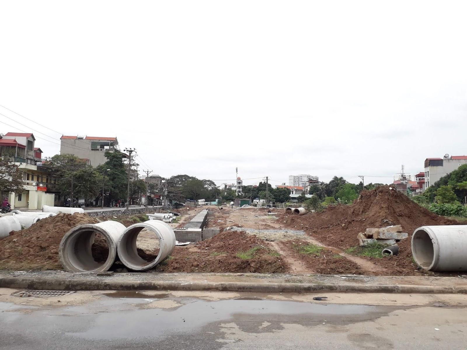 Hiện trạng đường 40m tháng 12 năm 2018.