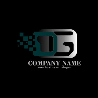 Letter DG Digital Logo Template Free Download Vector CDR, AI, EPS and PNG Formats
