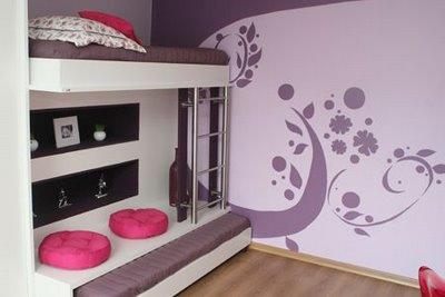 Divas cibern ticas quartos femininos modernos - Ideas para decorar habitacion juvenil femenina ...