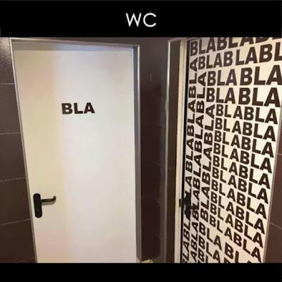 Puerta WC más original