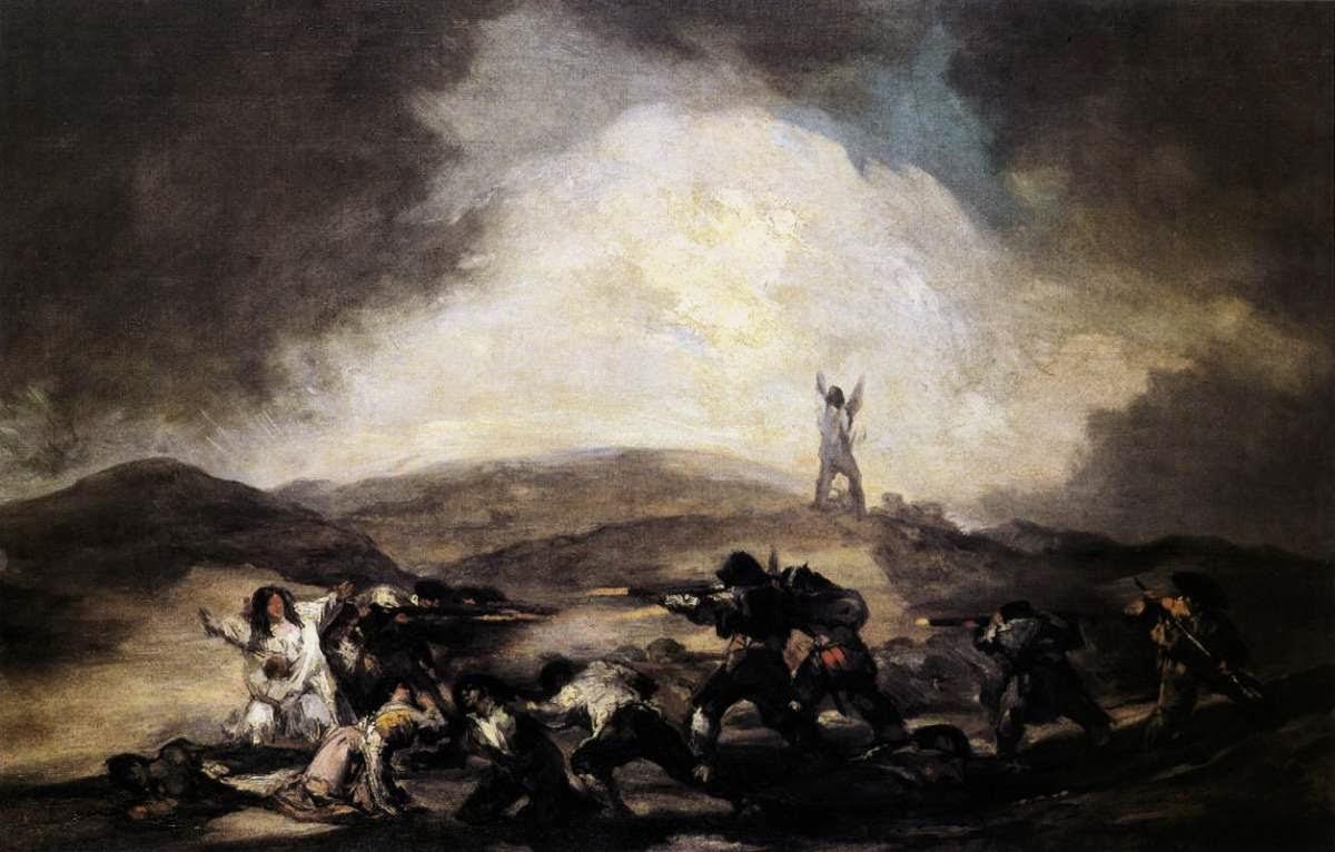 Roubo - Goya, Francisco e suas pinturas ~ Foi um importante pintor espanhol da fase do Romantismo
