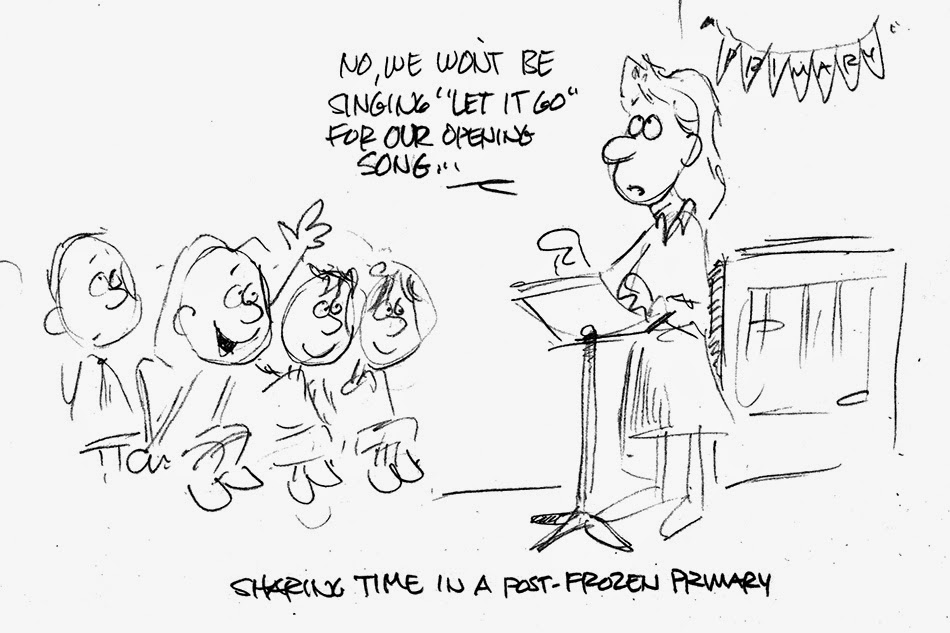 Beckstrom Buzz: Monday Sketchbook: A cold day in sharing time
