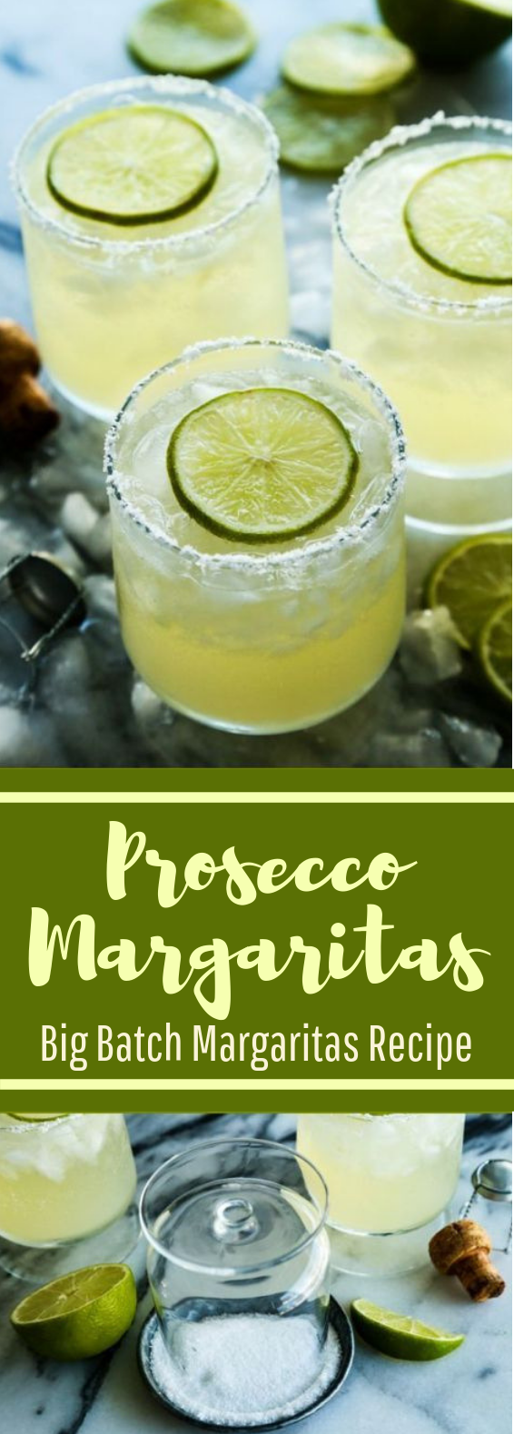 Prosecco Margaritas #drinks #cocktail