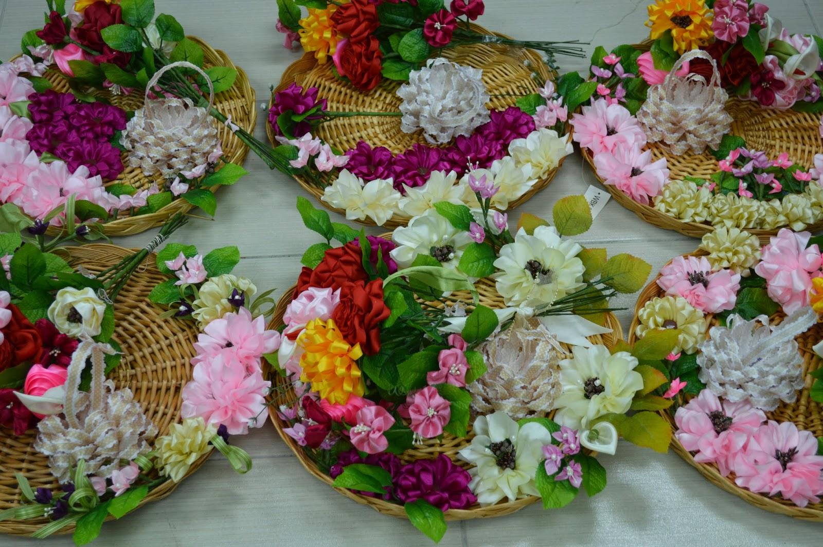 5 Hari Program Peserta Diajar Membuat 10 Jenis Bunga