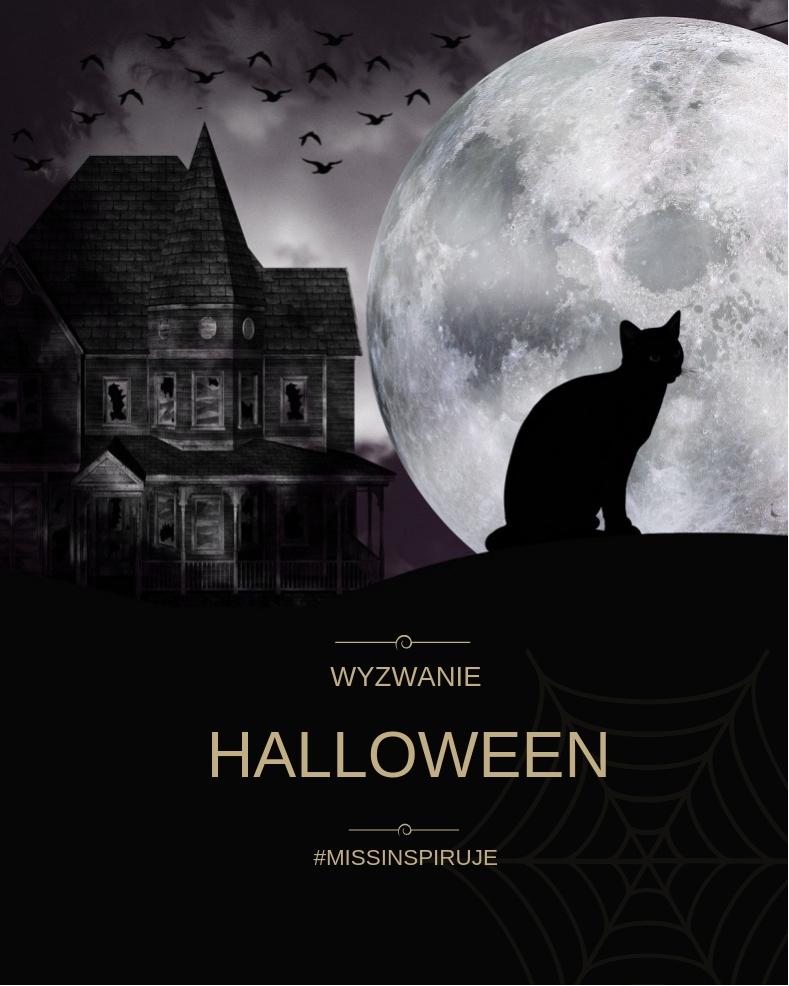 Wyzwanie makijażowe - Halloween & Podsumowanie jesiennego wyzwania