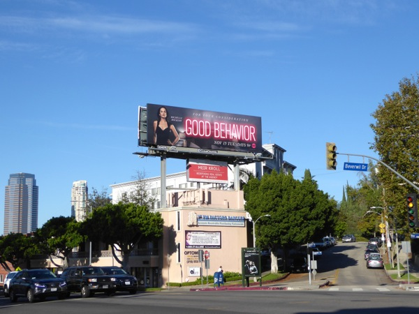 Good Behavior TV billboard