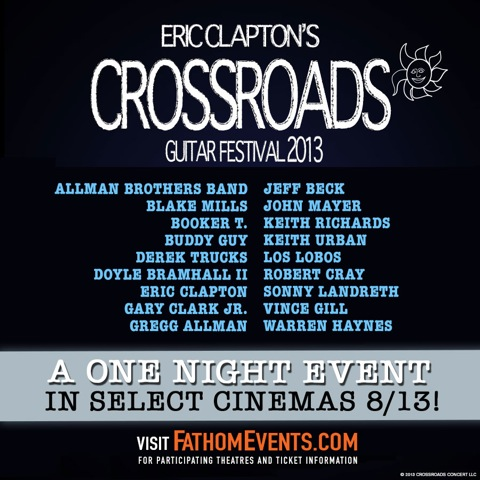paulamule eric clapton 39 s crossroads guitar festival 2013. Black Bedroom Furniture Sets. Home Design Ideas