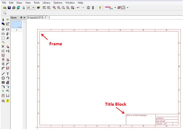 Blog of Wei-Hsiung Huang: How to add frame and edit title block in ...